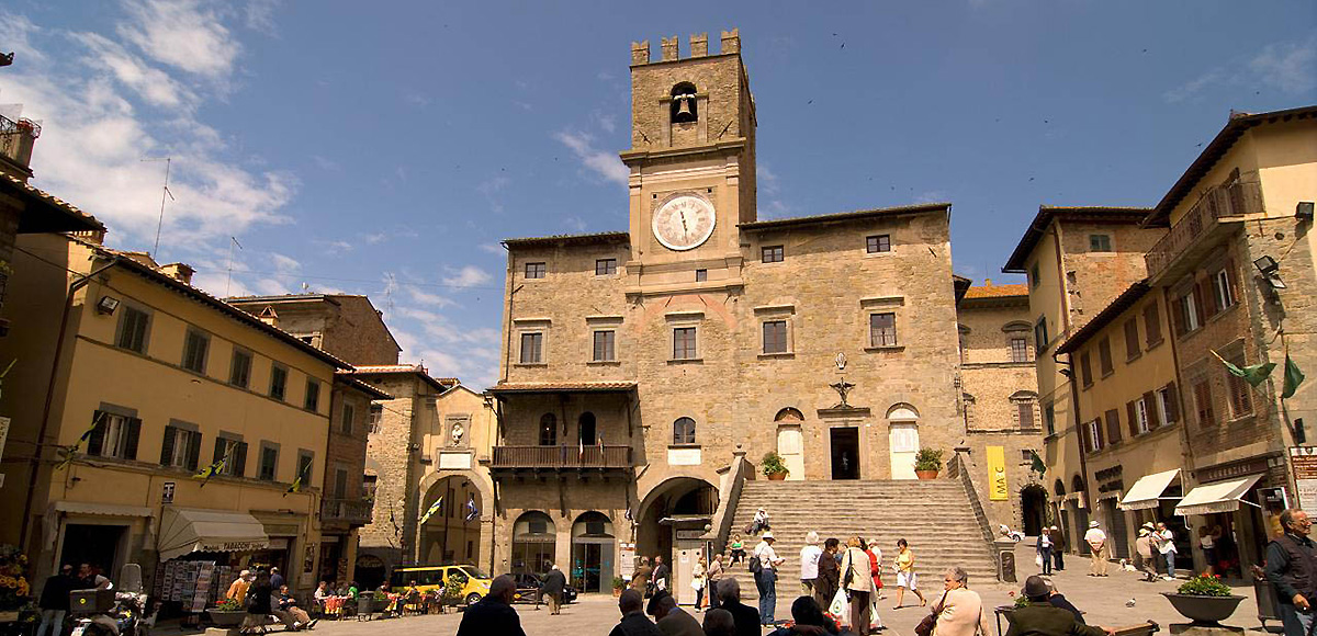 The historic centre - Cortona Tuscany